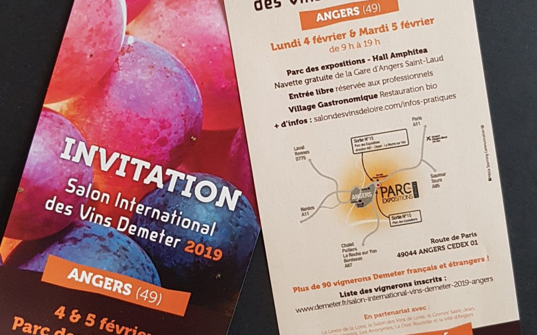 Salon International des Vins Demeter 2019